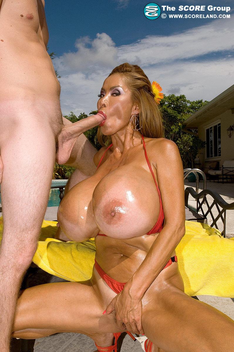 Gigantische brüste